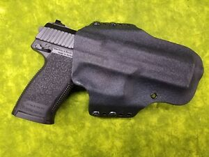 HOLSTER-COMBO-BLACK-KYDEX-FITS-FN-5-7-USG-WITH-DOUBLE-MAG-HOLSTER
