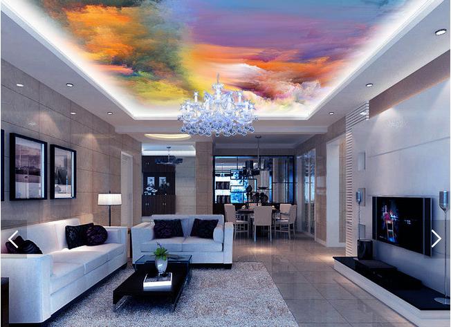 3D Paint 442 Ceiling WallPaper Murals Wall Print Decal Deco AJ WALLPAPER AU