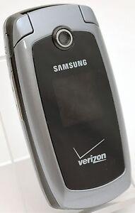 samsung sch u410 black verizon flip cell phone cdma gps bluetooth rh ebay com Samsung M340 Samsung Owner's Manual