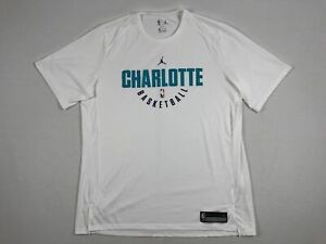 Jordan-Charlotte-Hornets-Short-Sleeve-Shirt-Multiple-Sizes-Used