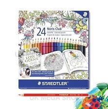 Staedtler Noris Club 24-Surtido de lápices de colores-Johanna Basford Edition
