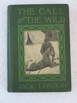 Jack London CALL OF THE WILD Goodwin & Bull Grosset & Dunlap Early Reprint