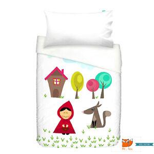 Mr Fox Bettwasche Bettbezug Und Kissen 100x120 Grandma Rotkappchen