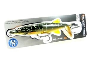 SAVAGE-GEAR-3D-PROP-PIKE-TOPWATER-PLOPPER-MUSKY-PIKE-LURE-SELECT-SIZE-COLOR