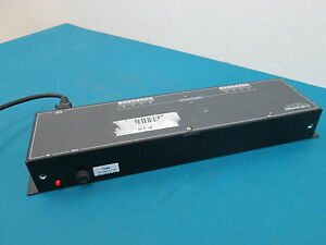 GE Interlogix Kalatel KTP-24-8 8-Output 24VAC Indoor Power Supply