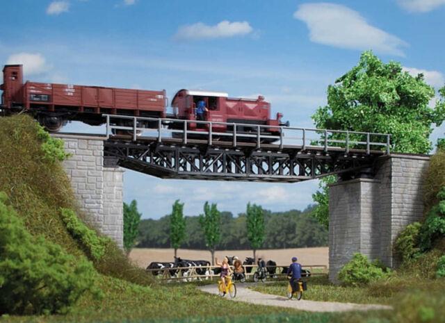 Auhagen kit 11365 NEW HO RAILROAD BRIDGE