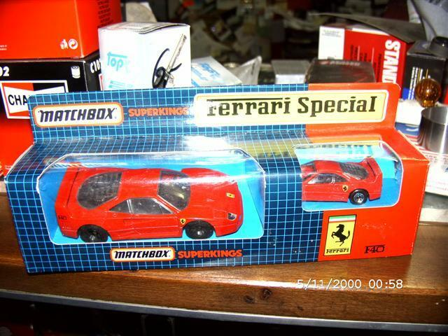 Matchbox  SUPERKINGS Ferrari-Spezial  Ferrari F40