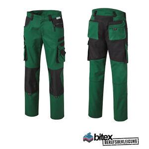 Pionier Tools Plus Bundhose Arbeitskleidung Workwear Grün/schwarz Arbeitshose Verschiedene Stile Kleidung Business & Industrie
