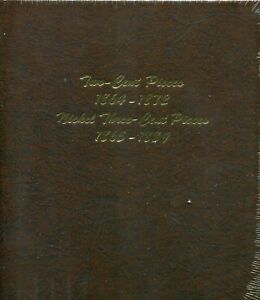 Dansco US Two Cent and Three Cent Nickel Coin Album #6108