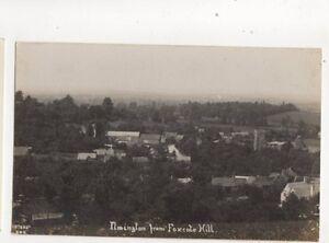 Ilmington-From-Foxcote-Hill-Warwickshire-Vintage-RP-Postcard-293b