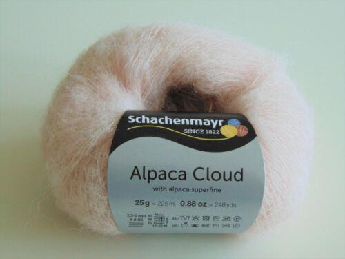 25g-lana-Garn 100g//18 € Alpaca Cloud-Schachenmayr