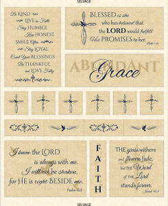 Religious-Thankful-Faith-Bible-Verses-Fabric-Timeless-Treasures-C6060-35-034-Panel