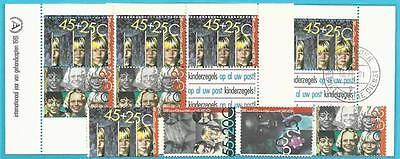 Block 23 Vorr Het Kind! Clever Niederlande Aus 1981 ** Postfrisch Minr.1193-1196