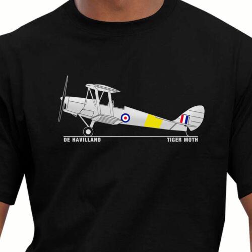 Aeroclassic De Havilland Tiger Moth T-Shirt