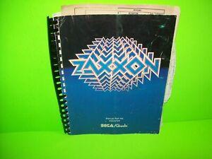 Sega-Zaxxon-Original-Video-Arcade-Game-Service-Manual-NOT-COMPLETE-Gremlin-1982
