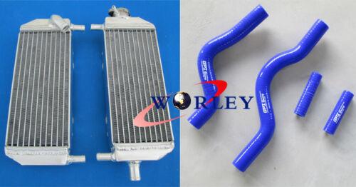 aluminum Radiator /& hose FOR Suzuki RM250 RM 250 01-08 02 03 04 05 06 07 08