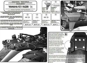 Givi-fitting-kit-PLX359KIT-hardware-mount-for-side-case-Yamaha-Fazer-FZ1-2006-15