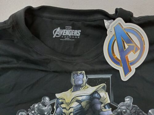 Marvel Avengers End Game Group Thanos Men's T-Shirt US Size 2XL