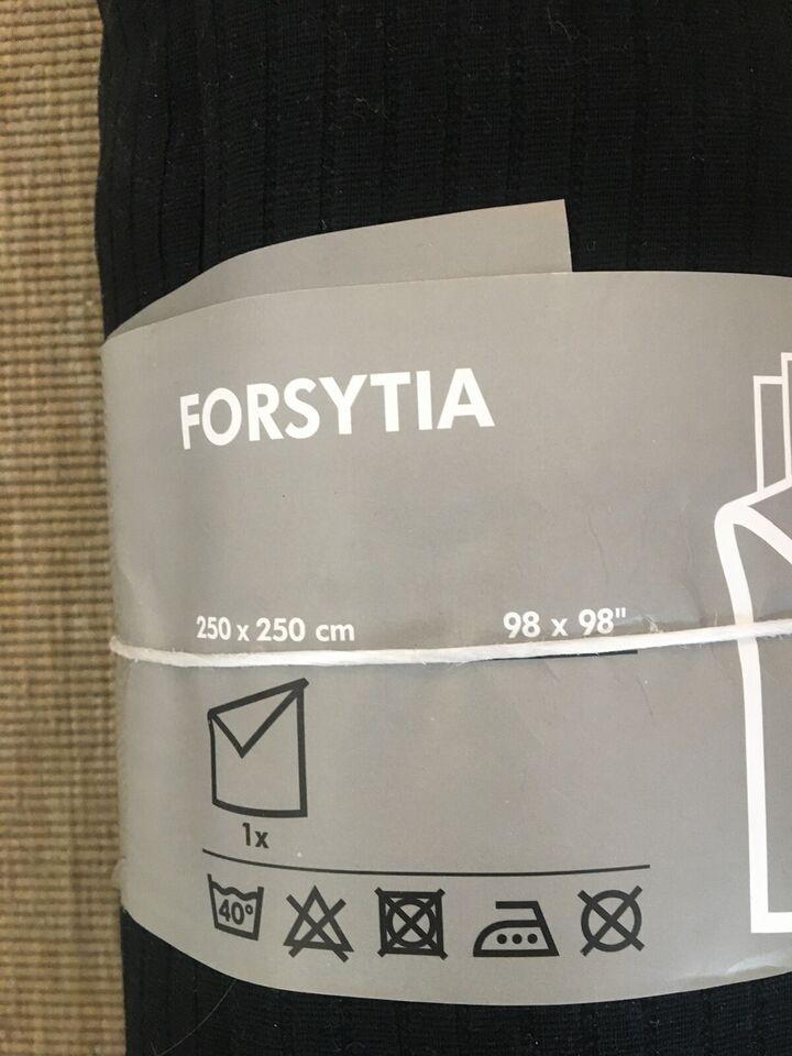 Dyne- og pudesæt, dynebetræk IKEA 250x250 sort