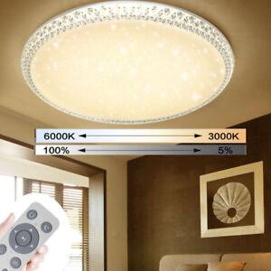 18w 48w Led Kristall Deckenleuchte Deckenlampe Schlafzimmer