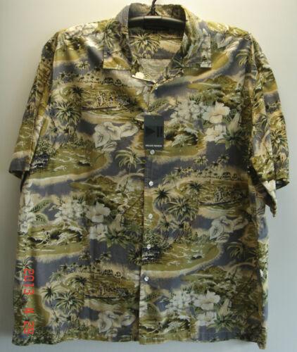 BIG SIZE da UOMO ESTATE CASUAL FASHION Hawaiian shirts 2XL a 5XL