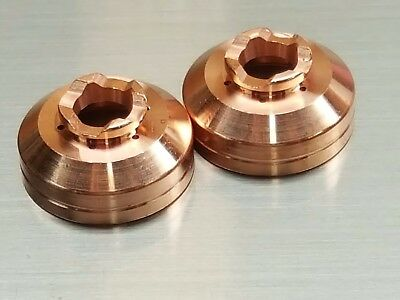 10pc x 40A Shielded Plasma Nozzles Electrode PT60 PT40 iPT-60 PT-40 AHP Alphacut