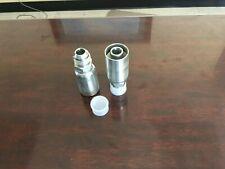 2 Mj 12 12 Hydraulic Hose Crimp Fittings 34 X 12 Male Jic 12u 512
