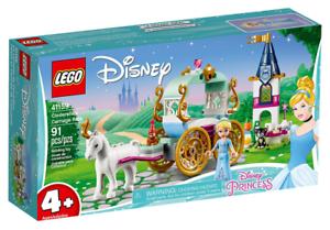 LEGO Disney Princess: Cinderella/'s Carriage Ride 91 Pieces 41159 New 2019