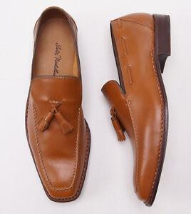 New-1295-SUTOR-MANTELLASSI-Norwegian-Welt-Tassel-Loafers-Shoes-10-D-Norvegese