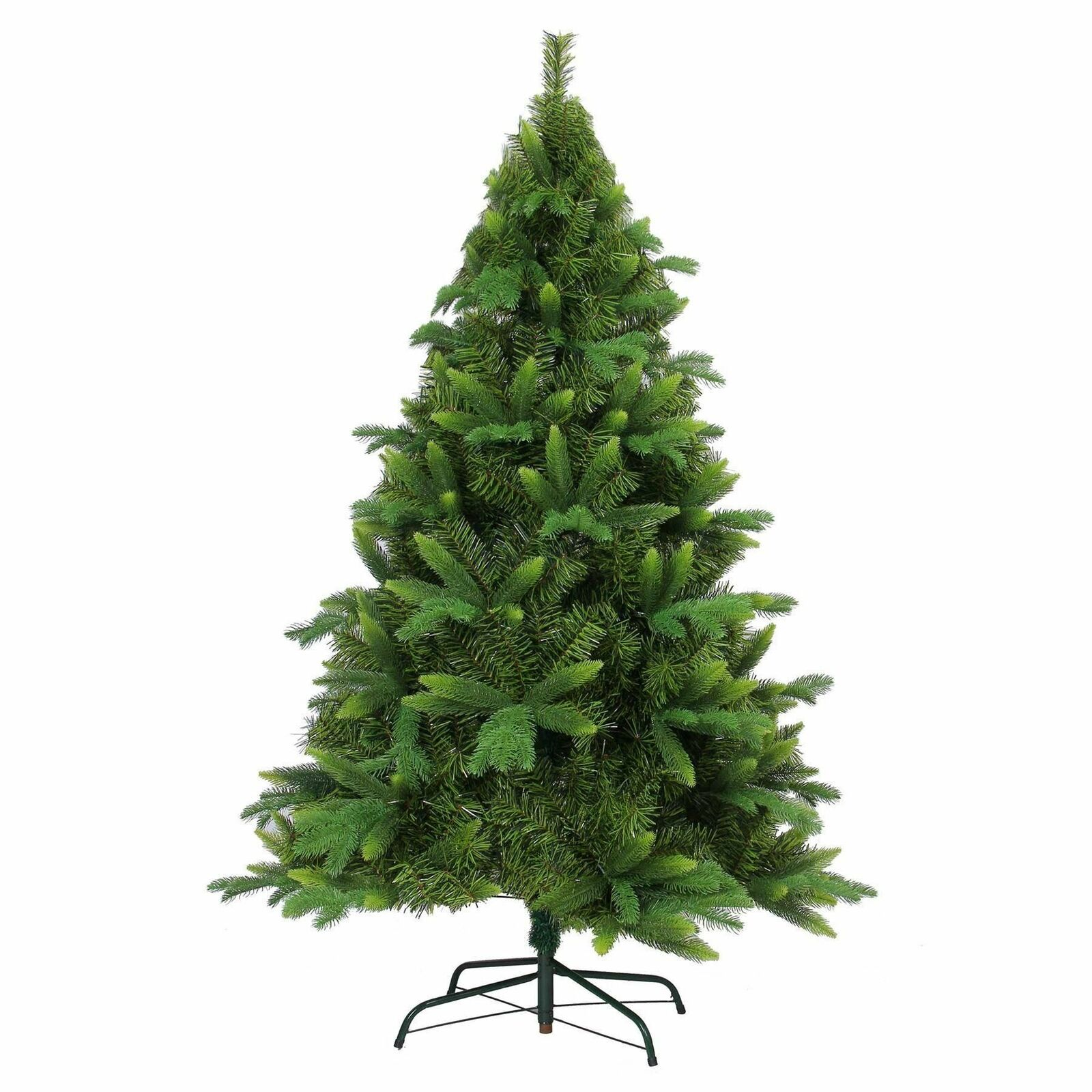 6ft Pre Decorated Artificial Christmas Tree 3 Various Tips Xmas Home Decorations
