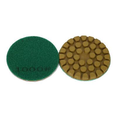 Dry Diamond Grinding Disc Grit 50//150//300//500//1000//2000 Mable Concrete Stone Floor Polishing Renovation 3 in 80mm 6pcs//Set