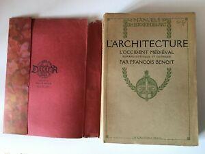 Francois-Benedicto-ARQUITECTURA-DE-Occidental-Medieval-Romano-Gothique-Laurens