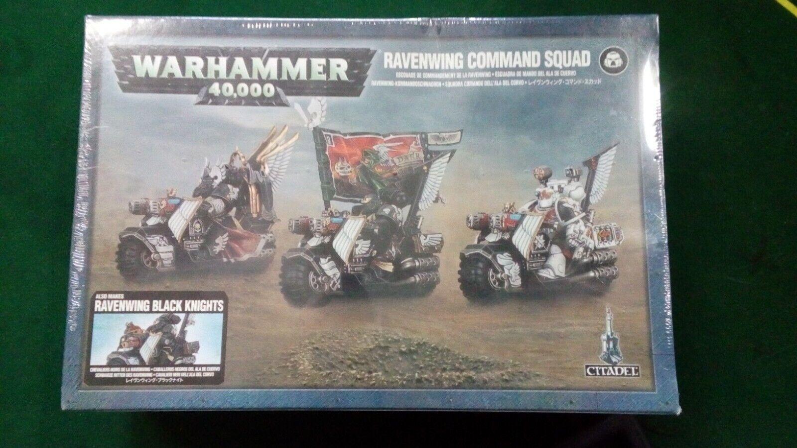 WARHAMMER 40K - Dark Angels Ravenwing Command Squad Sealed Box