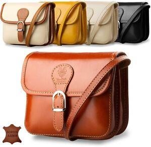 6b4160115acef Das Bild wird geladen elegante-kleine-Damentasche -Schultertasche-Naturleder-italienisches-Design