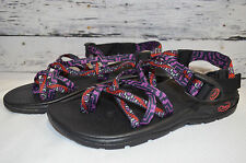 Womens Chaco Sport Sandals EcoTread Outdoor Hiking Purple Red Size 7