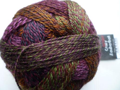 mediante la flor calcetines lana ganchillos tejer Schoppel bola mágica FB