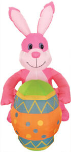 EASTER BUNNY WITH EGG 4 FT AIRBLOWN INFLATABLE YARD DECORATION