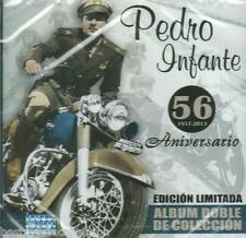 Pedro Infante CD NEW 56 Aniversario SET 2 CDs & 50 Exitos De Coleccion SEALED