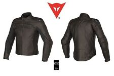 NEW - DAINESE R-TWIN PELLE - LEATHER JACKET - TESTA DI MORO - SIZE 60