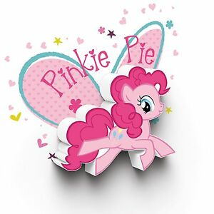 MY-LITTLE-PONY-PINKIE-PIE-3D-LED-DECO-WALL-LIGHT-GIRLS-KIDS-BEDROOM-LIGHTING