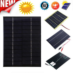Portable 2w 6v 330ma Polysilicon Diy Solar Power Panel Battery Panel Kit For Light Battery Cell Phone Toys Chargers Kit Consumer Electronics Accessories & Parts