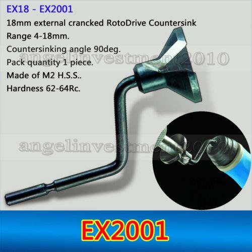 1Pcs Deburring System External Countersinks Blades EX2001 Compatible
