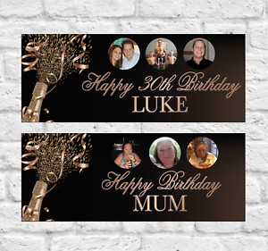 Personalised-Birthday-Banner-18th-21st-30th-40th-50th-Party-Decoration-Rose-Gold