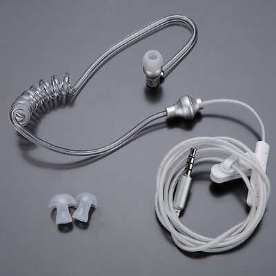 Air Tube Stereo Anti-Radiation Earphone 3.5 mm Jack Headset For iPhone 5s 6 Plus