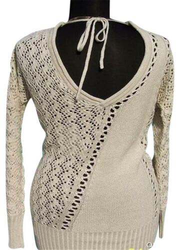 A Back Top Cache V Dbl Boo Peek 118 In Kissed Metallic Nwt Knit m Tie S New l qqx51PSH