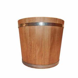 Pflanztopf Holz Pflanzkübel Blumentopf Eiche XL lackiert 58 L für große Pflanzen