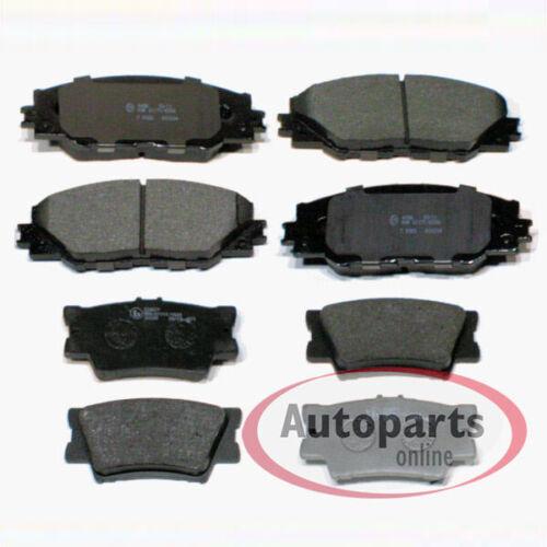 Hyundai Terracan HP Bremsscheiben Bremsen Bremsbeläge für vorne hinten