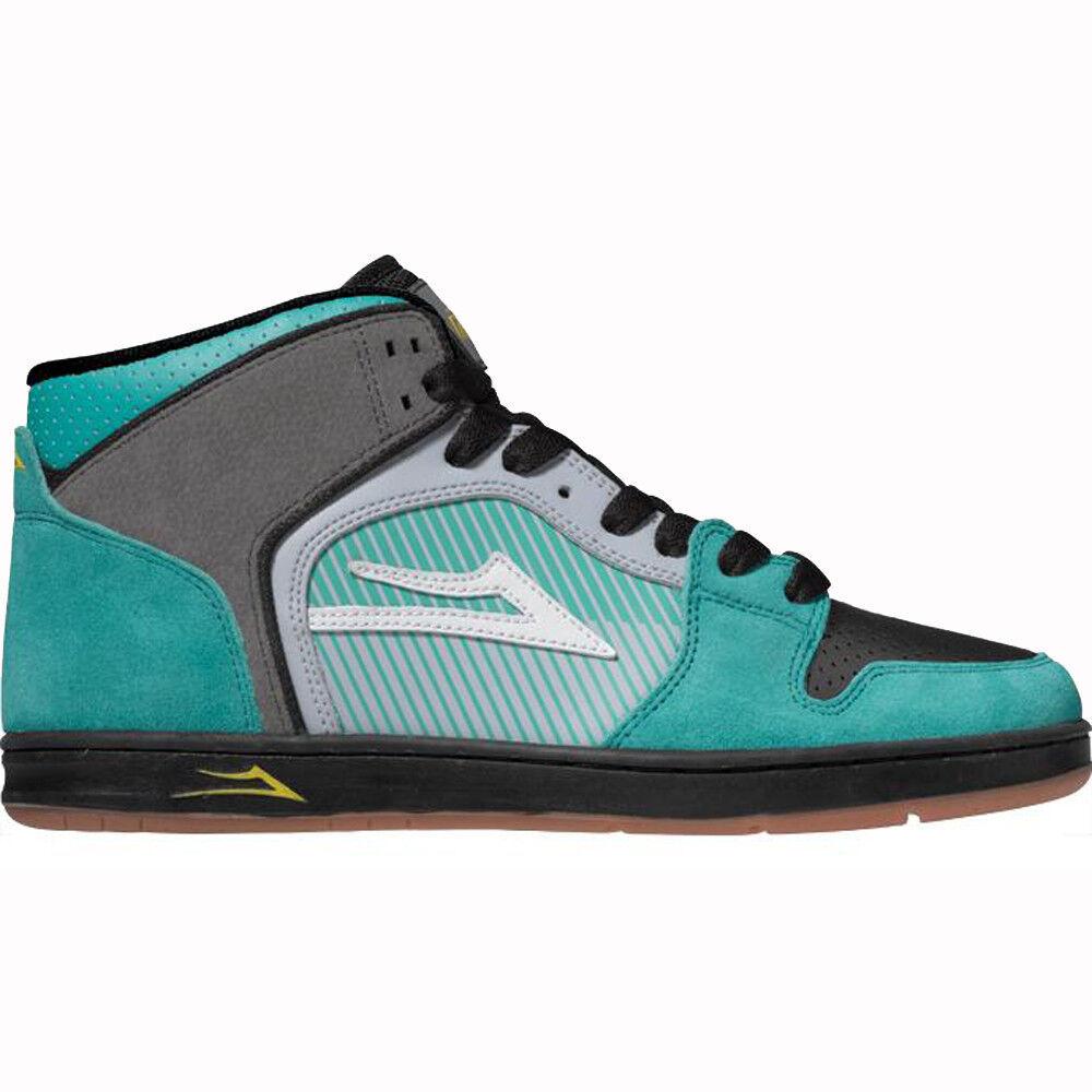 Scarpe da skateboard shoes LAKAI Telford mens skate street sneakers shoes skateboard green suede 152217