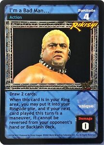 WWE-Raw-Deal-CCG-Summer-Slam-6-0-I-039-m-a-Bad-Man