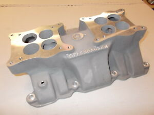 Details about Offy Offenhauser dual quad intake manifold Nailhead Buick 401  425
